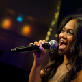 Sängerin Livemusik